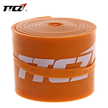 TTCZ Latex Elastic Yoga Fitness Resistance Bands Orange