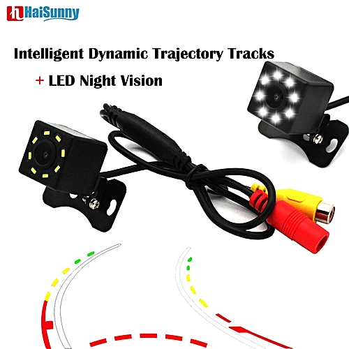 Ebay Motors Car & Truck Parts 1x 4led Ir Night Vision Car Reversing Rear View Dynamic Trajectory Camera Safety