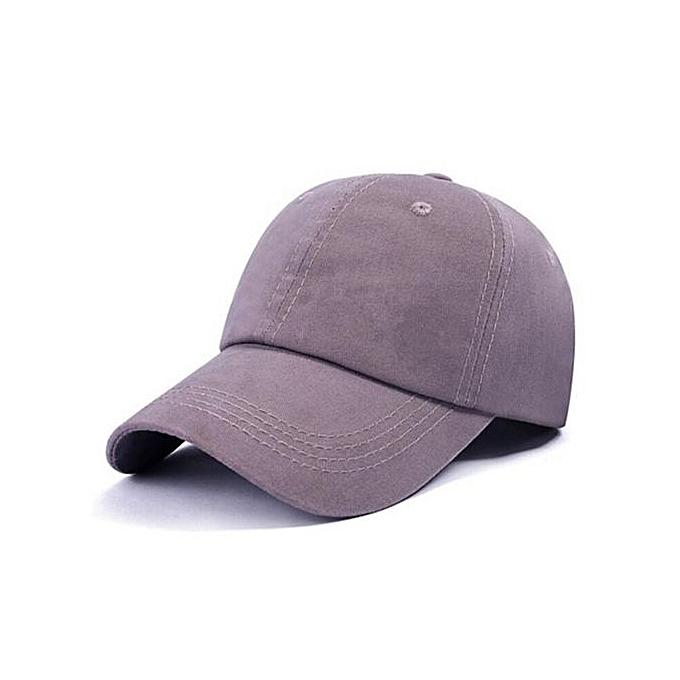 125799330f3 Summer Golf Baseball Caps For Men Outdoor Sports Adjustable Casual Sun  Shade Cap(Grey)