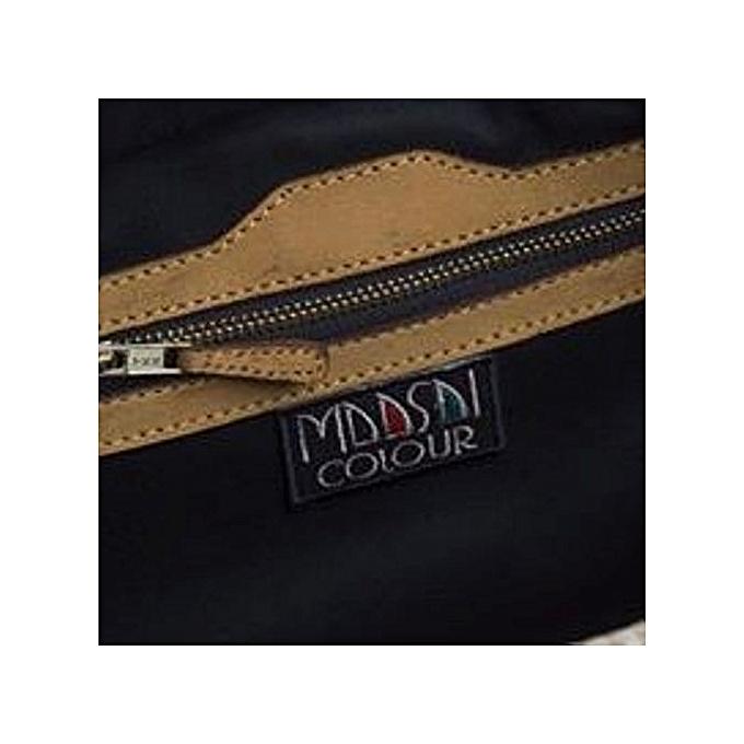 df45e7b7a9 MAASAI COLOUR Cream Seregetti Jute handbag   Best Price