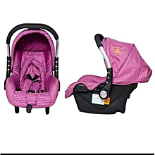 Superior King' Collection Carry Cot - Pink