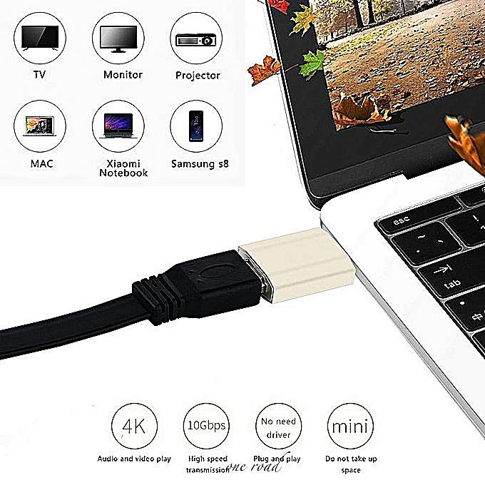 Smartphone Laptop USB 3 1 Type C Male To HDMI Female 4K UHD Adapter  Converter BDZ Mall