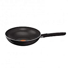First Cook Wok 28cm Black