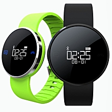 UW1S Waterproof IP67 Smart Bracelet Heart Rate Call SMS Remind Hand Raise Light Up Smart Watch