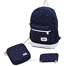 guoaivo canvas backpack teenagers Style composite bags high quality female backpacks DB