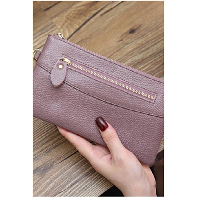 Girlfriend Birthday Gift Purple2018 New Clutch Bag Fashion Korean Version Of The Wild Ladies