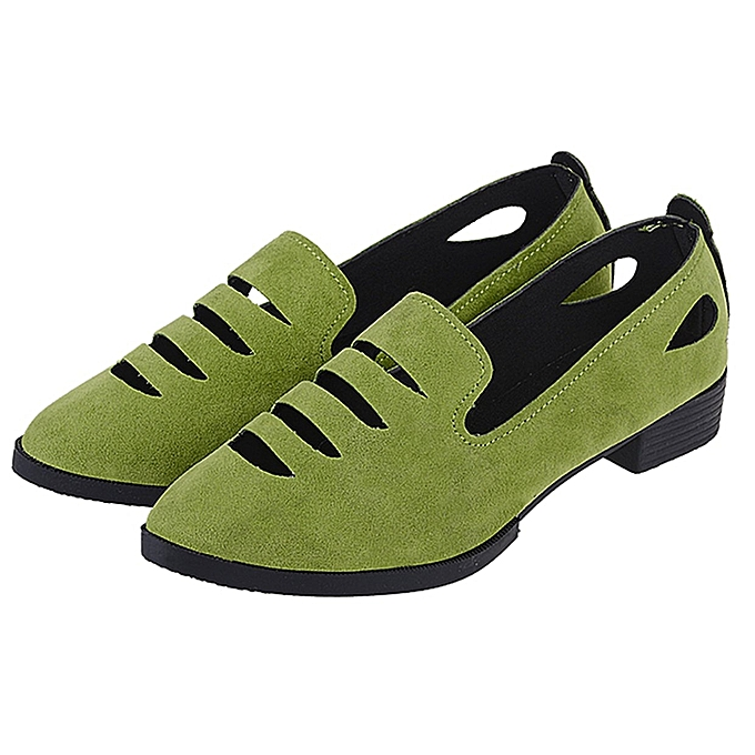 074ddb7a4fa Korean Fashion Summer Women Flat Shoes Comfortable Hollow Out Single