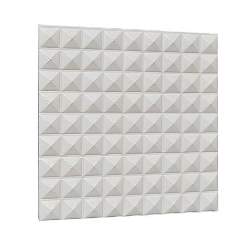 Generic 2pcs Pe Foam 3d Self Adhesive Wall Stickers Decor Tile