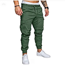 Jungle Green Men's Cargo Pant-Stylish Pocketed