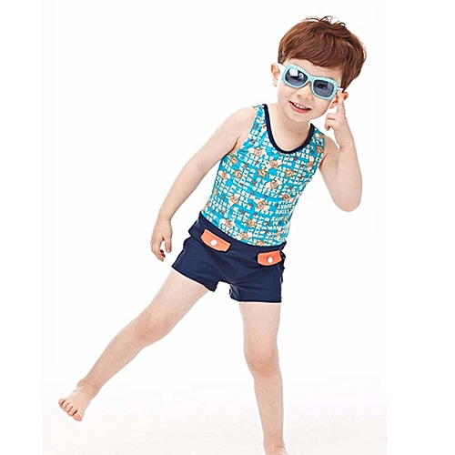 405705d86a Fashion Child Boy Swimwear One Piece Swimsuit With Swim Cap Kids Boys  Bathing Suit Baby Swim Wear Beach wear