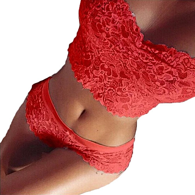 ... ZANZEA High Quality Women Transp Arent Lingeries Lace Crop Top S  Intimates Top Briefs Underw Ear ... 3c911add19f