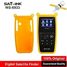 Satlink WS-6933 DVB-S2 FTA LNB Digital Satellite SatFinder Meter Satellite Finder DVB S2 2.1 Inch LCD Sat Finder Satlink WS 6933