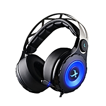 XIBERIA T18 Gaming Headphones Stereo Low Bass with Microphone black