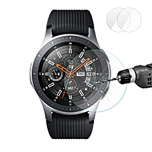 2 Packs Enkay 0.2mm 2.5D Tempered Glass Screen Protector For Samsung Galaxy Watch 46mm 2018