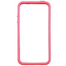 CO TPU Silicone Frame Bumper Hard Case Cover Skin for iPhone 4G 4S-pink