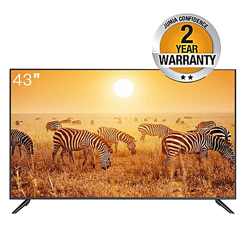 43'' - FHD - Digital TV - Haier Product - Black