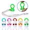 PVC Waterproof Swimming Nose Clip Earplugs Swimming Equipment 9*24mm