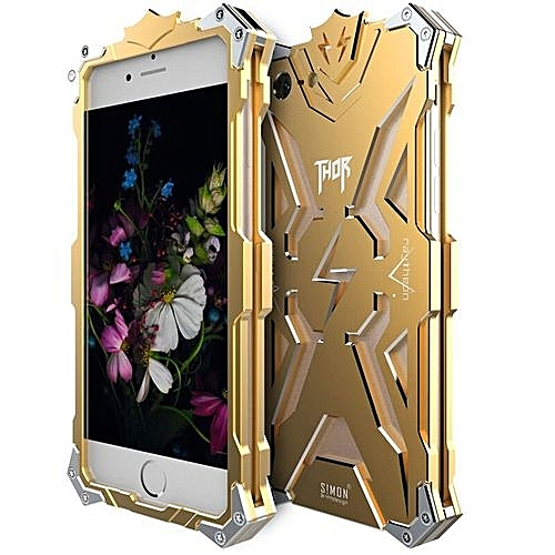 """official photos bb7d8 b6d40 For Applefor Iphone 7 4.7 """" Inch Thor Aluminum Phone Thor SeriesAviation  Metal Case (Gold)"""