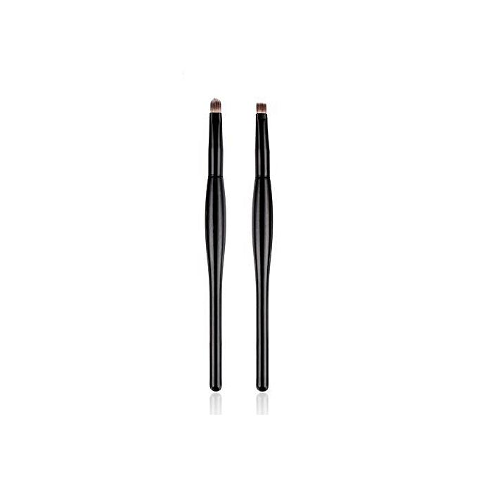 Whiskyky Store 2 Pcs Makeup Brush Set Eye Shadow Brush Cosmetics Blending  Brush Tool-Multicolor