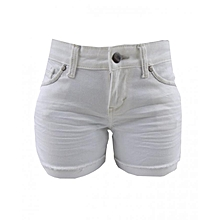 Forever Young Midi Short - White