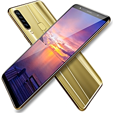Generic 6.2 Inches Eight Core(4GB RAM+64GB ROM ) Smartphone Cell Phone For Android  Dual Sim Dual Stand-golden