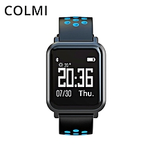 COLMI SN60 Waterproof Real-time Heart Rate Monitor Blood Pressure Smartwatch Blue