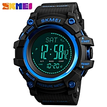 SKMEI Waterproof Sports Watch Altimeter Thermometer Pedometer Pressure Weather Compass Red / Blue / Green / Black