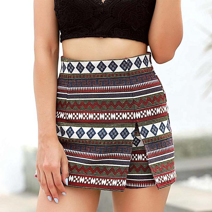 3e3ee7effd Fashion Women Boho Printting Beach Ladies Summer Pants Trousers L ...