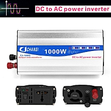 1000W Pure Sine Wave DC 12V To AC 220V Car Power Inverter Transmitter Charger