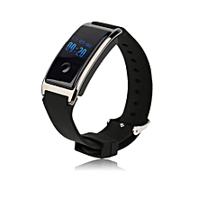 MD8 0.66 Inch OLED Display Waterproof IP68 Silicone Smart Bracelet Wristband