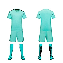 Customized 2018 World Cup Football Soccer Team Training Sports Jersey For Children And Men-Green