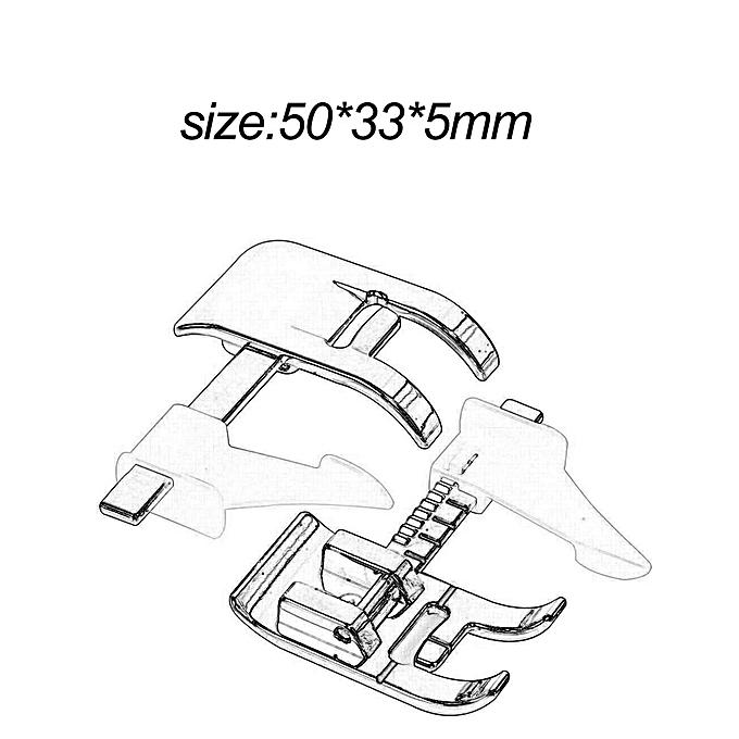 Allwin Distinctive Adjustable Guide Sewing Machine Presser Foot