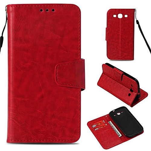 online retailer a72cf eea49 PU Leather Wallet Case Cover for Samsung Galaxy S3