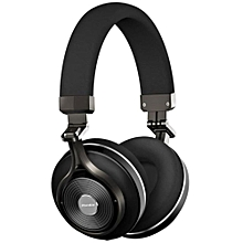 T3+ (Turbine 3rd Generation) Wireless Bluetooth Headphones with Microphone, MicroSD & 3D Sound - Black