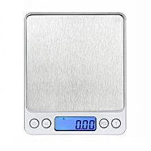 Technologg Electronic Scale  0.01oz/0.1g 3000g Digital Pro Pocket Scale With Back-Lit LCD Display Silver -Silver