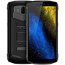 Blackview BV5800 PRO 4G Phablet Android 8.1 5.5 inch MT6739 Quad Core 1.5GHz 2GB RAM 16GB ROM 13.0MP + 0.3MP Rear Camera IP68 Water-proof 5580mAh Built-in Wireless Charging-BLACK