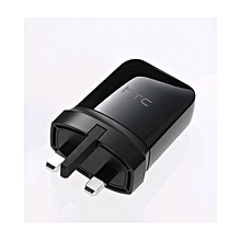 3pin charger-black