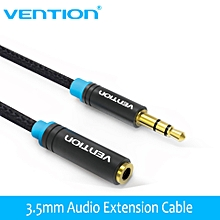 Vention VAB-B06 2M Jack 3.5mm Male to Female Audio Cable Headphone Aux Audio Extension Cable 3m 5m for Computer Headphone Cellphone DVD MP4 GOODHD