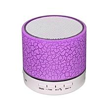 Portable Mini Wireless Stereo Bluetooth Speaker -Purple