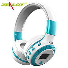 ZEALOT B19 Bluetooth Headset / SD Card / FM Radio - Blue
