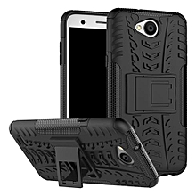 "For LG [X Power 2] Case, Hard PC+Soft TPU Shockproof Tough Dual Layer Cover Shell For 5.5"" LG LV7/[K10 Power], Black"