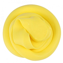 DIY Fluffy Slime Stress Relief Plasticine Anxiety Reducer Mud Clay Toy For Child Adults(Yellow)