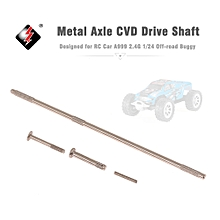 Metal Axle CVD Drive Shaft for A999 RC Car 1/24 Off-road Buggy