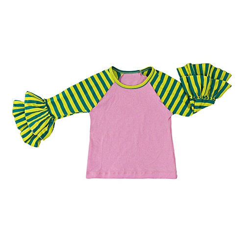 f5eb7d03c Eissely Toddler Newborn Infant Baby GirlsLong Sleeve Striped Fold ...