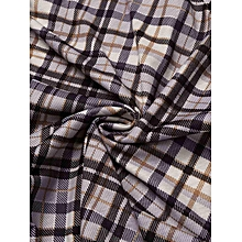 Women Solid O-Neck Long Sleeve Tops With Elastic Waist Print Pants Pajamas Sets ( Grey )