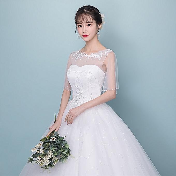 AFankara Wedding Dress - White @ Best Price Online