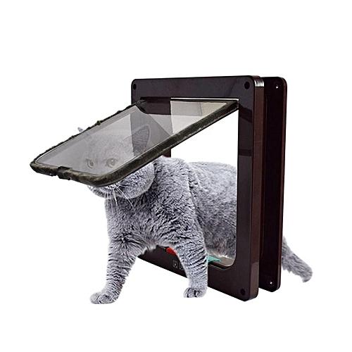 Buy Generic Mrosaa Pet Cat Puppy Dog Gates Door Brown L Best