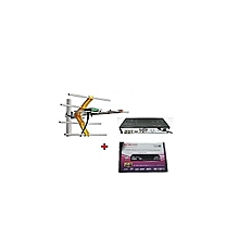 HD-T2F11 Digital Free to Air Decoder (No Monthly Charges)+ a FREE Digital Receiver Antenna/Aerial