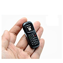 L8Star BM70 Mini Mobile Phone 0.66 Inch Bluetooth Dialer - Black