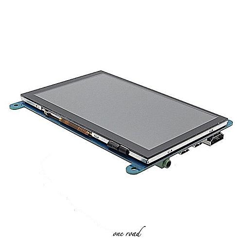 5 Inch 800X480 Hdmi Touch Capacitive Lcd Screen With Raspberry Pi 3B+/Bb  Black Osd Menu
